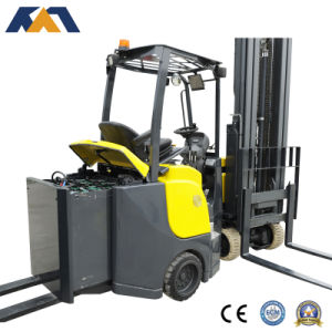 Quality Assurance Narrow Asile Electric Forklift Truck with Factory Price pictures & photos