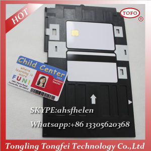 Factory Direct Sale Inkjet PVC Chip Card pictures & photos