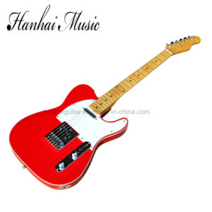 Hanhai Music / Red Tele Style Electric Guitar pictures & photos