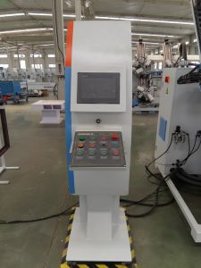 CNC High Efficiency Aluminum Window Door Four Head Corner Crimping Machine pictures & photos