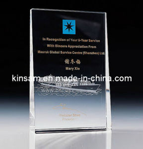 China Supplier Crystal Award with Stand for Souvenir Gifts (KS04147) pictures & photos