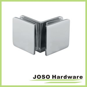 90 Degree Glass to Glass Shower Door Square Glass Bracket (BC102-90) pictures & photos