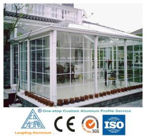 extruded aluminum framing for villa