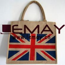 Best Selling 100% Natural Jute Beach Bag Custom Burlap Tote Bag pictures & photos