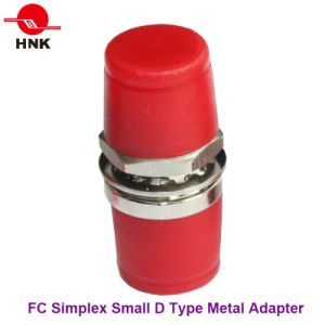 FC Simplex Metal Small D Type Fiber Optic Adapter pictures & photos