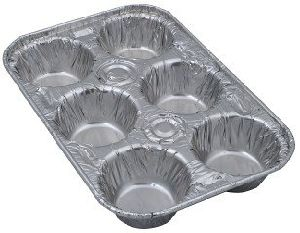 Muffin Pan Aluminum Foil Containers pictures & photos