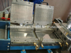 Plastic Profile Extrusion Line- PVC/WPC/Ceiling/ Window Profile/Wall Panel Extrusion and Production Line pictures & photos