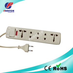 Power Strip 5 Ways Extension Socket with Switch pictures & photos