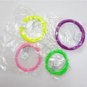 Fluorescent PLA 3D Printer Filament Red Color pictures & photos