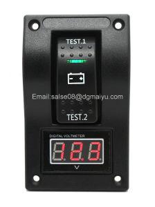 5-30V Digital Voltmeter Battery Test Panel Rocker Switch Dpdt/on-off-on pictures & photos