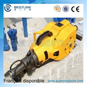 Hand Held Rock Drill Machine for Drilling Hole pictures & photos