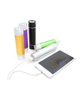 RC-1006 Mobile Phone Power Bank 3000mAh with LED Flashlight pictures & photos