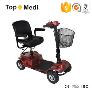 Topmedi New Outdoor Electric Mobility Wheelchair Scooter Tew031 pictures & photos