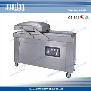 Hualian 2015 Vacuum & Seal Machine (HVC-510S/2B-G) pictures & photos