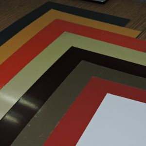 0.25-0.7mm AA1100h24 Prepainted Aluminum Sheet pictures & photos
