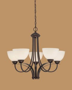 Hot Sale Chandelier with Glass Shade (1935RBZ)