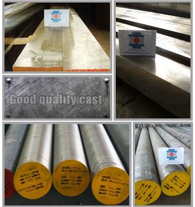 4140+Q/T+Rough Turned, Steel Roud Bar, Forged Steel pictures & photos