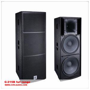 Long Throw Full Range Speaker Foh Speaker Cabinet Dual 15 Inch Speaker pictures & photos