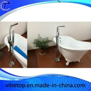 Hot Sale Freestanding Bathtub&Bath Faucet pictures & photos
