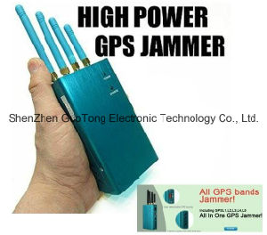 Professional Full-Band GPS L1-L5 Signal Jammer Block GPS Signal Jammer