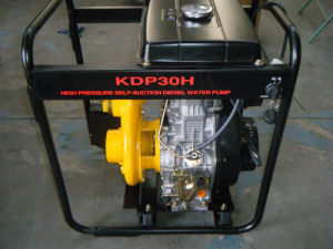 3 Inch High Pressure Iron Diesel Water Pumps pictures & photos