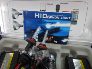 AC 55W H11 HID Lamp HID Kit with Slim Ballast