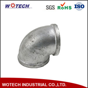 OEM Sand Casting Connection Pipe Fitting for Industrial