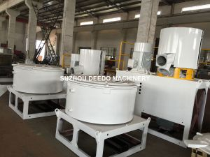 PVC Plastic Hot and Cold Mixer for Plastic Extruder Profile pictures & photos