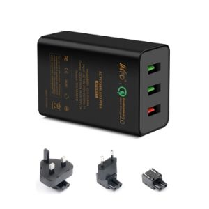 Quick Charge 2.0 3 Ports USB Travel Charger
