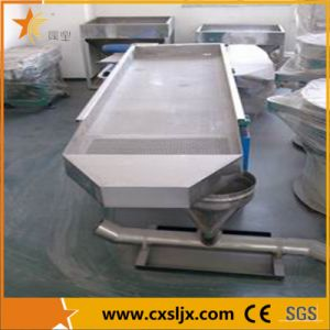 Stainless Steel Sieve Shaker Plastic Granules Vibrating Screen pictures & photos