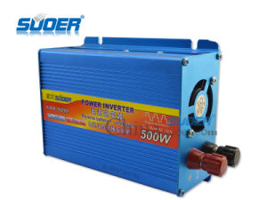 Suoer 12V 220V Universal Solar Home Inverter (FAA-500B) pictures & photos