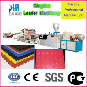 Plastic PVC Floor Tile Production Machine pictures & photos