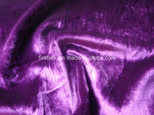 Silk Rayon Velvet with Burnout Printing Fabric pictures & photos