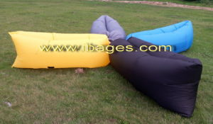 New 2ND Gerenation Nylon Hangout Inflatable Sleeping Air Bag (A0036) pictures & photos