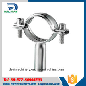 Stainless Steel Sanitary Round Pipe Hanger with Tube (DY-P014) pictures & photos