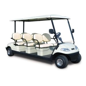 4 Wheels Electric Club Cart Use in Golf Course and Hotel pictures & photos