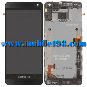 for HTC One Mini Black LCD Screen and Digitizer with Front Frame pictures & photos
