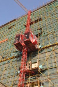 Construction Passenger and Material Elevator Hoist pictures & photos