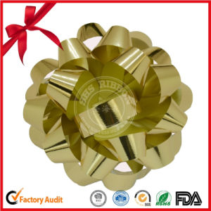Christmas Decorative Packing Ribbon Star Bow for Gift Wrapping pictures & photos