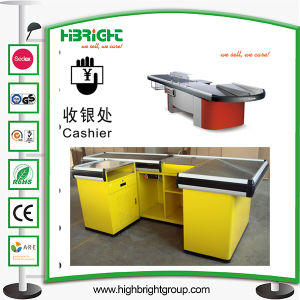 Supermarket Checkout Cashier Counter Table Money Desk pictures & photos