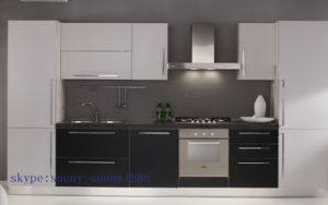L Shape Modular Kitchen Cabinet Color Combinations pictures & photos