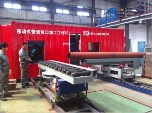 Pipe Prefabrication Pipe Cutting and Bevel Workstation pictures & photos