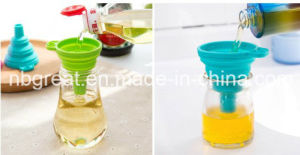 2016 New Collapsible Silicone Mini Funnel Kitchen Products pictures & photos