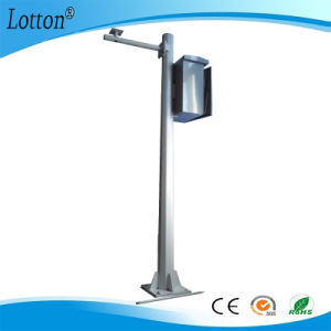 6m Double Arm Thickness 2.5mm Light Lamp Pole