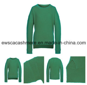 Women′s 100% Pure Cashmere Knitted Sweater