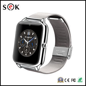 2016 New Fashion Z50 Smart Bluetooth Watch with SIM Card TF MP3 MP4 Compatible for Android Phones pictures & photos