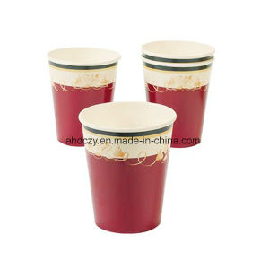 Wholesale 8oz Disposable Single Wall Coffee and Tea Paper Cups pictures & photos