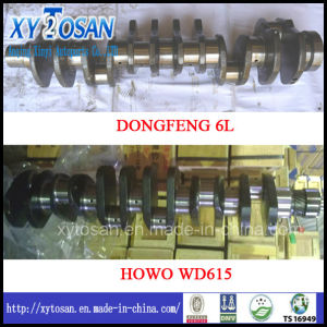 Forged Steel Crankshaft for Dongfeng 6L & HOWO Wd615 pictures & photos