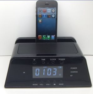 Docking Station Speaker for iPhone5/6 and iPad pictures & photos