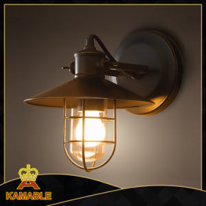 Industrial Indoor Black Iron Wall Lamp (KAW2011) pictures & photos